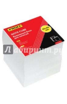 Бумажный блок для записей. 90х90х90, белый, непроклеенный (М150-90 PF)