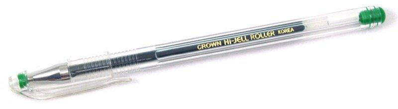 Иллюстрация 1 из 3 для Ручка гелевая зеленая (HJR-500) | Лабиринт - канцтовы. Источник: Лабиринт