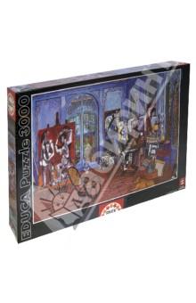 Пазл, 3000 элементов, Студия Пикассо (15539)Пазлы (2000 элементов и более)<br>Пазл-мозаика.<br>Состоит из 3000 элементов.<br>Правила игры: вскрыть упаковку и собрать игру по картинке.<br>Размер собранной картинки: 120х85 см.<br>Не давать детям до 3-х лет из-за наличия мелких деталей.<br>Упаковка: картонная коробка.<br>Производитель: Испания.<br>