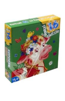 Развивающая мозаика Коровка (2396)Пазлы (Maxi)<br>Развивающая мозаика Коровка<br>Собери картинку из 16 деталей!<br>Количество деталей: 16<br>Размер собранной картинки: 31х33 см.<br>Материал: бумага, картон<br>Упаковка: картонная коробка<br>Для детей от 3 лет.<br>Сделано в России<br>