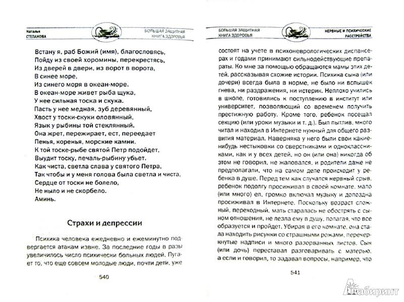 Иллюстрация 1 из 15 для Большая защитная книга здоровья - Наталья Степанова   Лабиринт - книги. Источник: Лабиринт