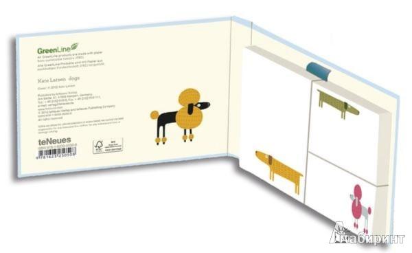 Иллюстрация 1 из 2 для Набор стикеров Green Sticky Notes Dogs (25050) | Лабиринт - канцтовы. Источник: Лабиринт