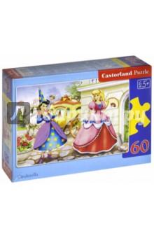 Puzzle-60 MIDI Золушка (В-06182)Пазлы (54-90 элементов)<br>Пазлы-мозаика для детей.<br>Правила игры: вскрыть упаковку и собрать игру по картинке.<br>В коробке 60 пазлов.<br>Размер собранной картинки: 32х23 см.<br>Для детей от 5-ти лет. <br>Не давать детям до 3-х лет из-за наличия мелких деталей.<br>Производитель: Польша.<br>