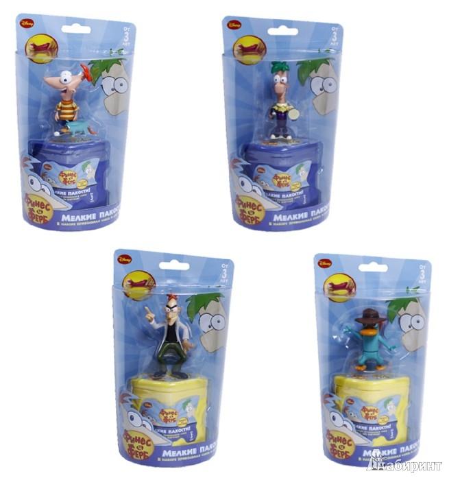 Иллюстрация 1 из 5 для Disney P&F пакости: слизь. 2 фигурки, в ассортименте (Т55591) | Лабиринт - игрушки. Источник: Лабиринт
