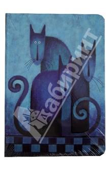 Бизнес-блокнот Cats, Modo Arte А5- (6098)Блокноты (нестандартный формат)<br>Бизнес-блокнот Modo Arte.<br>Бумага: плотный офсет.<br>Переплет: 7Б.<br>Выборочная лакировка, ляссе.<br>Произведено в Китае.<br>