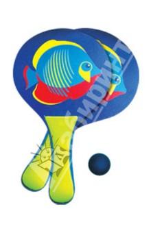 """Набор из двух ракеток и мяча """"Морская рыбка"""" (40375)"""