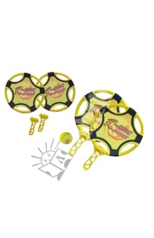 Набор ракеток и летающих дисков. 2 в 1 (39984)