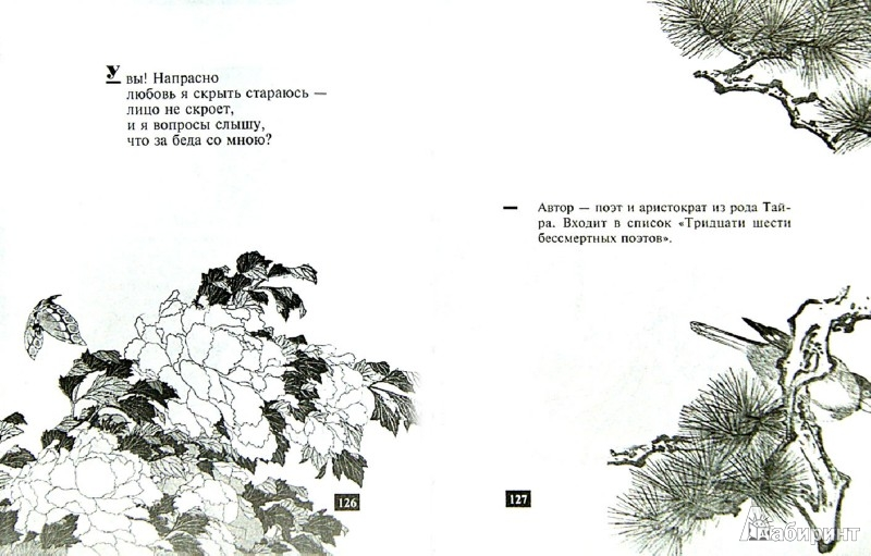"""Иллюстрация 1 из 7 для Песни ста поэтов. Японская антология """"Хякунин иссю""""   Лабиринт - книги. Источник: Лабиринт"""
