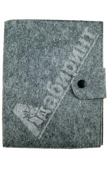 Бизнес-блокнот на спирали А5, серый (070006)Блокноты большие Линейка<br>Бизнес-блокнот на спирали в мягкой обложке из искусственного войлока.<br>Цвет обложки: серый.<br>Бумага: офсет.<br>Крепление листов: спираль.<br>Разлиновка: линейка.<br>Количество листов: 120.<br>Формат: А5.<br>Сделано в Китае.<br>