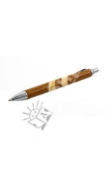 Ручка шариковая автоматическая (черная) (070054)Ручки шариковые автоматические черные<br>Ручка шариковая автоматическая.<br>Цвет чернил: черный.<br>Корпус изготовлен из дерева. <br>Упакоковка: картонный блистер.<br>Сделано в Китае.<br>