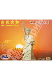 Настольная игра Статуя Свободы. 3D Деревянные Пазлы Достопримечательности