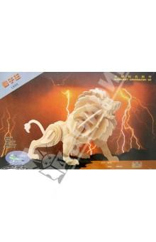 Настольная игра Лев 3D Деревянные Пазлы (Е013)