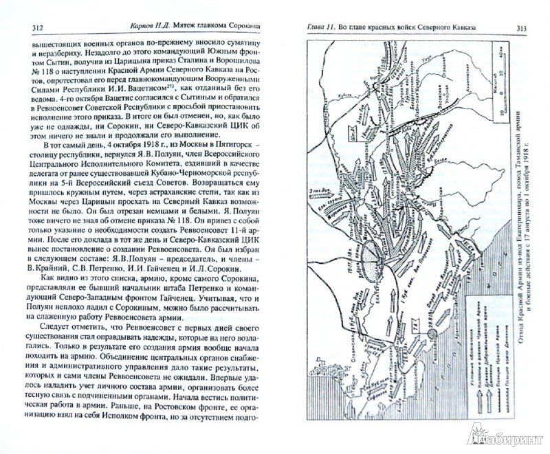 Иллюстрация 1 из 11 для Мятеж главкома Сорокина: Правда и вымыслы - Николай Карпов   Лабиринт - книги. Источник: Лабиринт