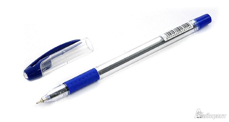 Иллюстрация 1 из 5 для Ручка шариковая PENTEK Point-O, синяя (504347)   Лабиринт - канцтовы. Источник: Лабиринт