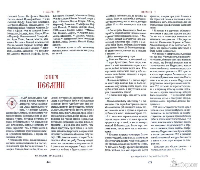 Иллюстрация 1 из 9 для Библия. Книги священного писания Ветхого и Нового Заветов   Лабиринт - книги. Источник: Лабиринт