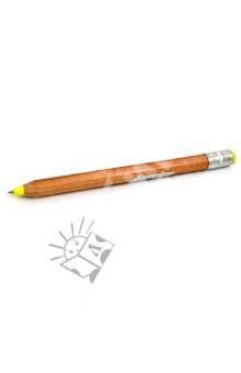 Ручка шар КАРАНДАШ желтая (03962)