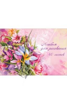 """Альбом для рисования """"Букет цветов"""". 40 листов (29807)"""