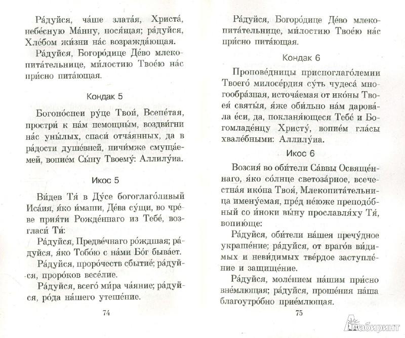 Иллюстрация 1 из 8 для Акафист и молитвы, чтомые о детях | Лабиринт - книги. Источник: Лабиринт