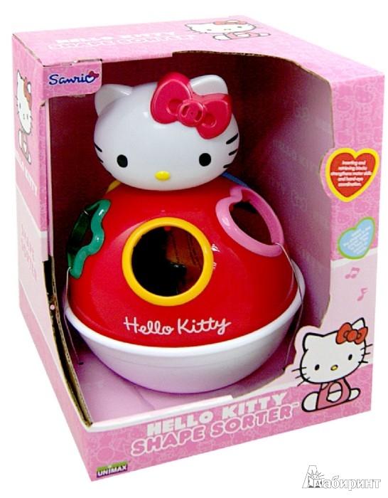 Иллюстрация 1 из 2 для Игрушка-сортер Hello Kitty со звуком (65017) | Лабиринт - игрушки. Источник: Лабиринт