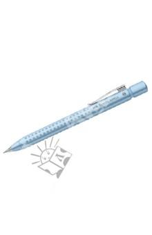 Карандаш механический GRIP 2011 перламутрово-синий (131247)Карандаши автоматические и цанговые<br>- запатентованная GRIP антискользящая зона захвата с малыми массажными шашечками<br>- эргономичная трехгранная форма<br>- упругий клип, наконечник и выдвижной колпачок наконечника из металла<br>- система, предотвращающая поломку грифеля<br>- оптимальная толщина грифеля 0,7 мм<br>- качественный, длинный, выдвижной ластик, защищенный колпачком<br>Сделано в Германии.<br>