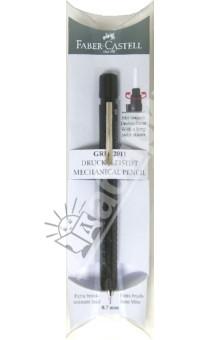 Карандаш механический GRIP 2011 черный металлический, пенал (131256) Faber-Castell