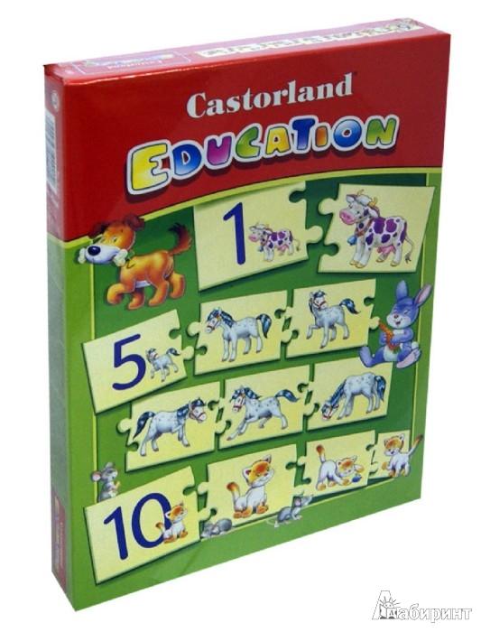 "Иллюстрация 1 из 16 для Puzzle-Игра ""Математика"" (Е-050) | Лабиринт - игрушки. Источник: Лабиринт"