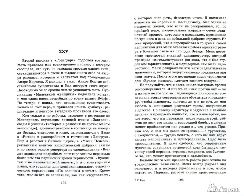 Иллюстрация 1 из 11 для Обещание на рассвете - Ромен Гари | Лабиринт - книги. Источник: Лабиринт