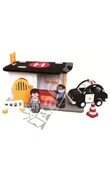 3D пазл. Конструктор мягкий, 67 деталей Полицейский участок (M5902)Конструкторы из пластмассы и мягкого пластика<br>3D пазл (мягкий конструктор)<br>Этот безопасный конструктор обязательно порадует Вашего малыша!<br>Материал: вспененный полиэтилен.<br>Упаковка: картонная коробка.<br>Для детей от 4 лет.<br>Сделано в Тайване.<br>