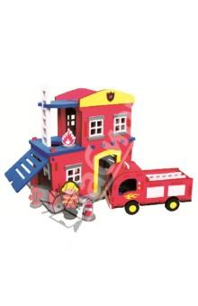 3D пазл. Конструктор мягкий, 124 детали Пожарная станция (M5910)Конструкторы из пластмассы и мягкого пластика<br>3D пазл (мягкий конструктор)<br>Этот безопасный конструктор обязательно порадует Вашего малыша!<br>Материал: вспененный полиэтилен.<br>Упаковка: картонная коробка.<br>Для детей от 4 лет.<br>Сделано в Тайване.<br>