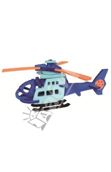 Конструктор мягкий. Вертолет (T6012)Конструкторы из пластмассы и мягкого пластика<br>Вертолет - Ева 3Д Пазл (мягкий конструктор).<br>Не содержит тяжелых металлов, ПВХ, пригоден для переработки.<br>Материал: вспененный полиэтилен с добавлением ЭВА.<br>Производство: Тайвань<br>