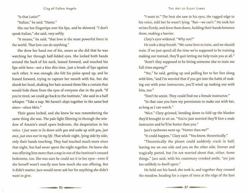 Иллюстрация 1 из 11 для Mortal Instruments 4: City of Fallen Angels - Cassandra Clare | Лабиринт - книги. Источник: Лабиринт