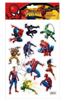"Наклейки ""SPIDER-MAN"", 3D на листе (002-STRHMA)"