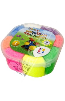 Пластилин шариковый 8 цветов HOBBY (956121-08)