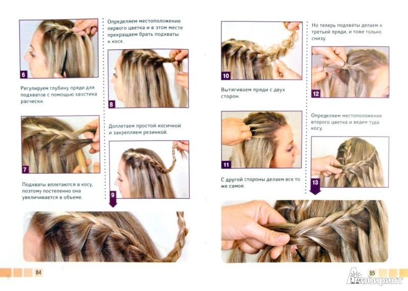 Как самой себе научиться плести косы самой себе