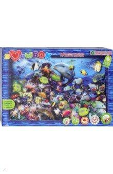 Набор для творчества  Я люблю рыбок (АБ 21-116)Аппликации<br>Яркую картину Я люблю рыбок ребёнок старше 5 лет сможет сделать сам - без клея и ножниц, в технике 3-D аппликации. Яркие разноцветные коралловые рыбки, морские звёзды и ракушки, загадочные медузы, дельфины и другие причудливые обитатели подводного мира - на яркой объемной картине, напоминающей аквариум или окно в чудесный подводный мир!<br> Работая с набором, ребёнок учится складывать трёхмерное изображение из частей, составляя перспективу. Рамку собирать не нужно - красочная и глубокая готовая рамка входит в набор. Клей также не нужен - вместо него в наборе объёмный двусторонний скотч.<br>Комплектация: готовые бумажные детали, готовая рамка из плотного картона (20 х 29 см), двусторонний объемный скотч, инструкция.<br>Материал: бумага, ПВХ.<br>Упаковка: картонная коробка.<br>Для детей от 5 лет.<br>Сделано в России.<br>