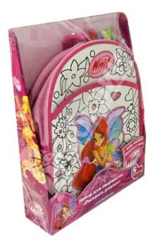 Набор для росписи по ткани Раскрась рюкзак (ZC-003/WH)