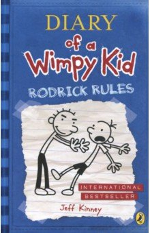 Diary of a Wimpy Kid: Rodrick Rules (Book 2)Изучение иностранного языка<br>Rodrick Rules is the hilarious sequel to bestselling and award-winning Diary of a Wimpy Kid. Perfect for readers of 8+, reluctant readers and all the millions of Wimpy Kid fans out there. Rodrick Rules was also a major movie hit at the box-office and the rib-tickling third Wimpy Kid movie, Dog Days released in the UK in August 2012! Whatever you do, don t ask Greg about his summer vacation because he definitely doesn t want to talk about it. It s a brand-new year and a brand-new journal and Greg is keen to put the humiliating (and secret!) events of last summer firmly behind him. But someone knows everything - someone whose job it is to most definitely not keep anything embarrassing of Greg s private - his big brother, Rodrick. How can Greg make it through this new school year with his not-quite-cool reputation intact? Praise for Jeff Kinney and the Diary of a Wimpy Kid series: The world has gone crazy for Jeff Kinney s Diary of a Wimpy Kid series. (Sun). Kinney is right up there with J K Rowling as one of the bestselling children s authors on the planet. (Independent). Hilarious! (Sunday Telegraph).The most hotly anticipated children s book of the year is here - Diary of a Wimpy Kid. (The Big Issue). As well as being an international bestselling author, Jeff Kinney is also an online developer and designer. He is the creator of the children s virtual world, poptropica where you can also find the Wimpy Kid island. He was named one of Time magazine s 100 Most Influential People in 2009. He lives with his family in Massachusetts, USA.<br>