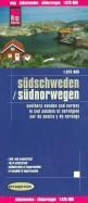 Sudschweden. Sudnorwegen. 1:875 000