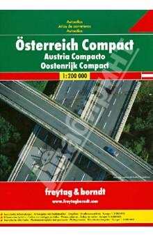 Osterreich Compact Autoatlas 1:200 000Атласы и карты мира<br>Osterreich Compact Autoatlas. M 1:200 000.<br>