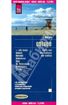 Baltic Sea. 1:1 300 000