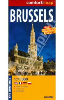 Brussels. 1:11 000