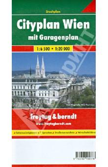 Vienna City 1:6 500, 1: 20 000Атласы и карты мира<br>Wien Cityplan. М 1:6 500; 1:20 000.<br>