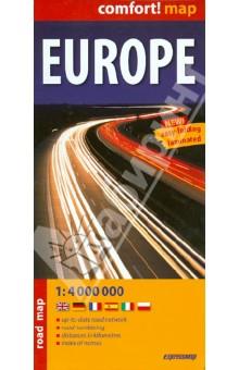 Europe. 1:4 000 000