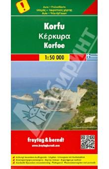 Corfu. Korfu 1:50 000