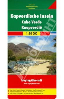 Cape Verde Islands. 1:80 000