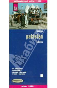 Pakistan 1:1 300 000Атласы и карты мира<br>Diese Landkarte erscheint in der Landkartenserie world mapping projec bei Reise Know-How. Kennzeichnend ist die hochwertige, klare und moderne kartografische Darstellung.<br>- Hohenlinien mit Hohenangaben<br>- Farbige Hohenschichten<br>- Klassifiziertes Straennetz mit Entfernungsangaben<br>- Sehenswurdigkeiten<br>- Ausfuhrlicher Ortsindex<br>- GPS-Tauglichkeit durch Langen-und Breitengrade<br>- UTM-Gitter<br>