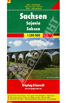 Sachsen 1:200 000Атласы и карты мира<br>These city maps are produced by one of Europe s leading map publishers. They vary in scale by city but include a wealth of detail on tourist attractions, transportation and culture.<br>