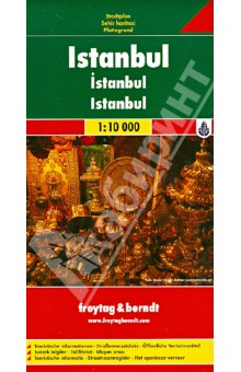 Istanbul. 1:10 000Атласы и карты мира<br>Explore Istanbul with this Freytag&amp;Berndt street map. The best way to plan your trip, prepare your itinerary, and to travel independently in this city of Western Turkey.<br>