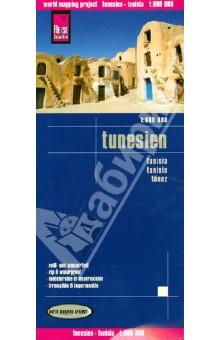 Tunesien. Tunisia 1:600000, 1:300000Атласы и карты мира<br>Tunesien. M 1:600000.<br>Djerba. M 1:300000.<br>