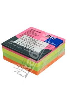 Блок-кубик для заметок 4 цвета, 75х75мм, 320 листов ()5654-39) Info Notes